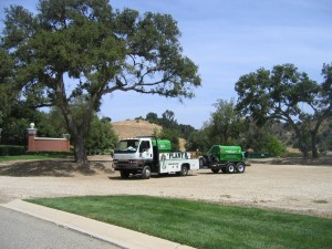 Kastle Kare Plant Care Truck in Ventura county
