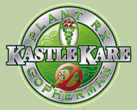 kastle kare logo, plant rx logo, plant disease, weeds